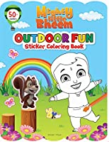 Mighty Little Bheem - Outdoor Fun : Sticker And Coloring Fun Activity Book