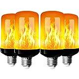 StillCool 4pcs Ampoule de Flamme, E27 LED Ampoule...