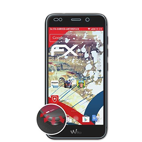 atFolix Schutzfolie kompatibel mit Wiko WIM Lite Folie, entspiegelnde & Flexible FX Bildschirmschutzfolie (3X)