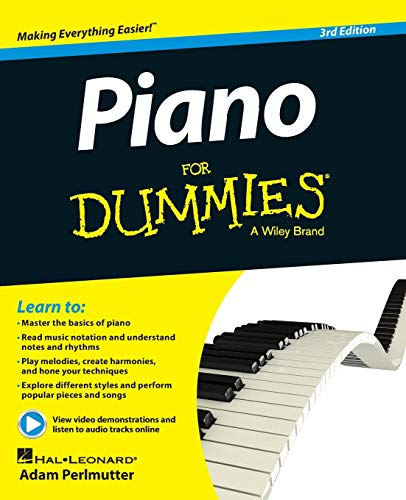 Piano For Dummies: Book + Online Video & Audio Instructi