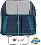 Happy Trampoline - Galactic Xtreme Gymnastic Rectangle Trampoline with...