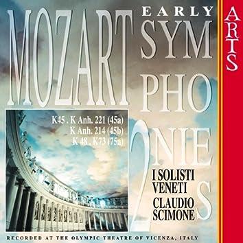 W.A. Mozart: Early Symphonies - Vol. 2