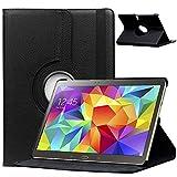 Hülle für Samsung GALAXY Tab S 10.5 Zoll SM-T800 T801 T805 Smart Slim Hülle Book Cover Stand Flip (Schwarz) NEU