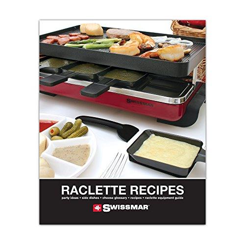 Raclette receptenboek Engels Swissmar RACBOOK1
