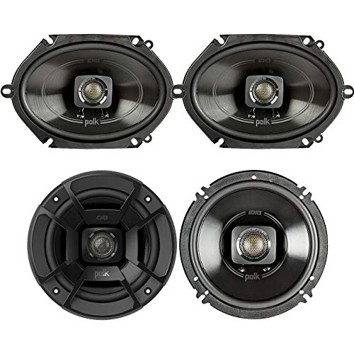 Polk Audio - A Pair of DB652 6.5' Coaxial and A Pair of DB572 5x7...