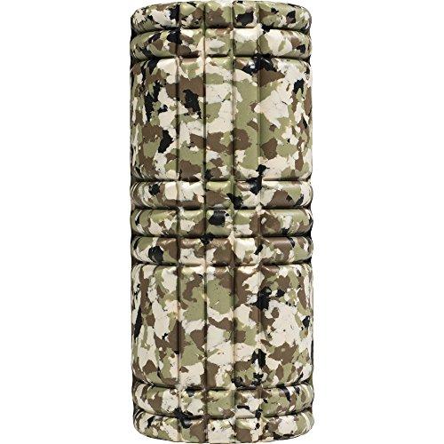 GORILLA SPORTS® Faszienrolle Schaumstoff 33 cm – Massagerolle mit Rillen im Camouflage-Design
