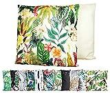 JACK XXL Outdoor Lounge Kissen 60x60cm Motiv Dekokissen Wasserfest Sitzkissen Garten Stuhl, Farbe:Amazonas