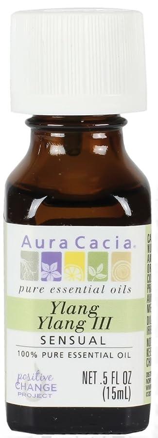 ハイジャックプレビスサイト簡単なPure Essential Oil Ylang Ylang - 0.5 fl oz by Aura Cacia