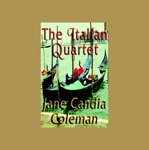 The Italian Quartet audiobook cover art