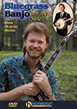 Reno Don Bluegrass Banjo Style DVD