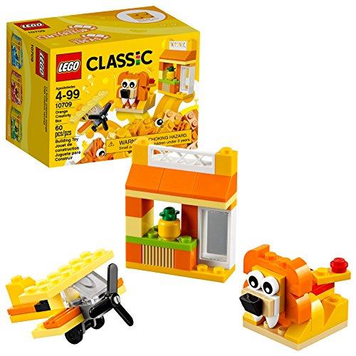 Lego Classic Kreativ-Box Orange 10709 (60 Teile)