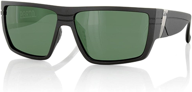 CARVE Porto Sunglasses Matt Black Polarized