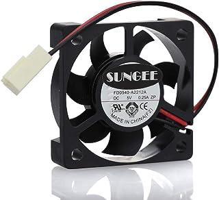 MulFan 4cm CeraDyna Fan 404010mm FD0540-A2212A FD0540-A3212A 5V 2Wire DaHua DVR Cooling Fan