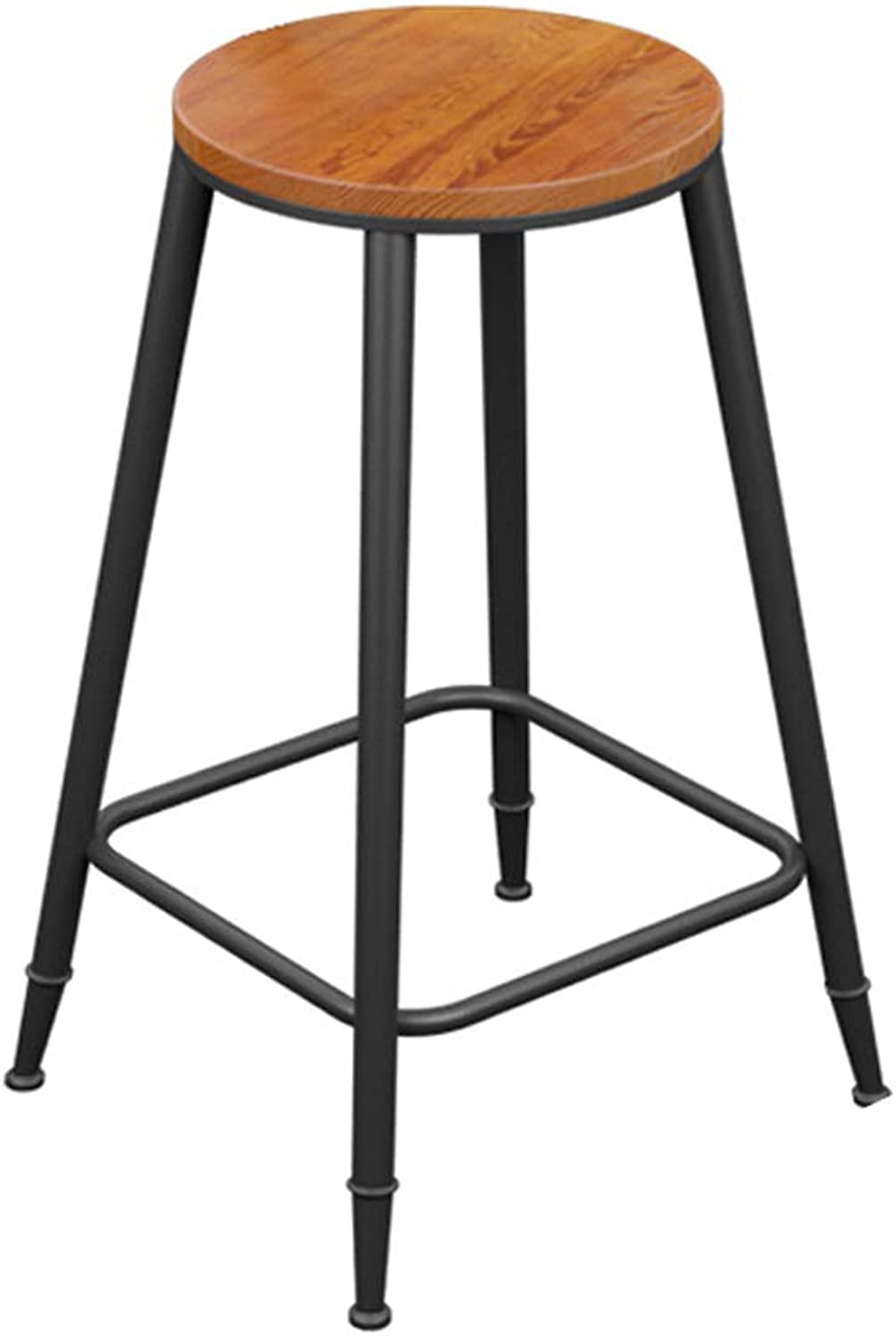 Yan Fei Iron Wood Bar Stool Bar Stool High Bar Chair High Stool High Chair Bar Stool Bar Chair Front Chair Comfortable Stools (Size   Sitting height73)