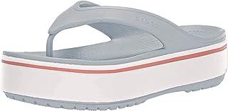 crocs Unisex-Adult Crocband Platform Flip Flip-Flops