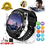Smart Watch,Smartwatch for Android Phones, Smart Watches Touchscreen with Camera Bluetooth Watch Phone