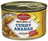 DREISTERN, Geflügel Fleischbällchen in Curry Ananas Sauce g, 400 g