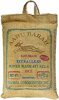 Aahu Barah Super Basmati Rice - 40 lbs