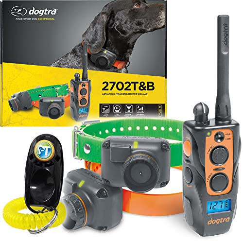Dogtra 2702T&B Two Dogs Remote Training and Beeper Collar