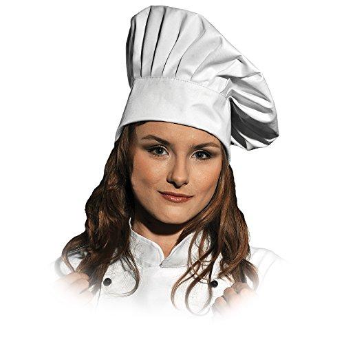 Leber&Hollman KOCHHUT LH-HATER L-XXL Kochmütze Kochkappe Küchenhut Koch Chefkoch Hut Mütze NEU