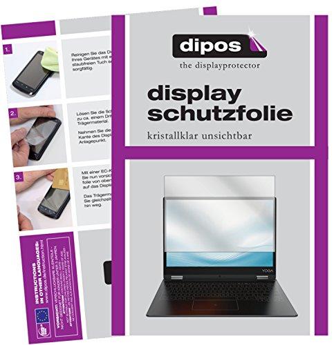 dipos I 2X Schutzfolie klar kompatibel mit Lenovo Yoga A12 Folie Bildschirmschutzfolie