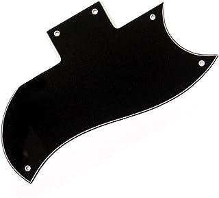 Guitar Tech gt581–Golpeador para guitarra SG estilo de Negro de 3capas