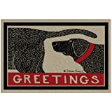 Thasaba Humorous Dog Sniffing Welcome Doormat Offers Unique Greeting to Your Guests
