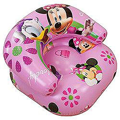 Kinder Mädchen Disney Minnie Mouse aufblasbarer Sessel (siehe Beschreibung) (Pink)