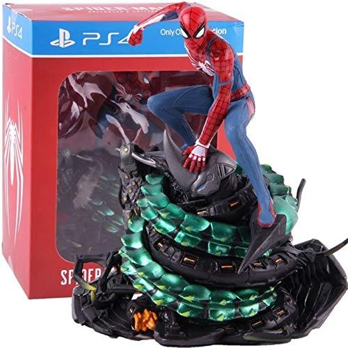 XJRHB PS4 Spider-Man Collectors Edition Spiderman Figura Azione PVC Statue Modello da Collezione Giocattolo da Collezione (Color : with Retail Box)