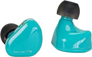 iBasso Audio IT00GR アイバッソ MMCX リケーブル 3.5mm ジャック 有線 カナル型 ダイナミック型 イヤホン ハイレゾ ロスレス 軽量 ゲーム 動画 映画 ストリーミング スマートフォン ゲーミング FPS 【国内正規品】