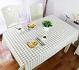 WSJIABIN Mantel Sin Lavado de PVC Antifouling A Prueba de Aceite Anti escaldado Mantel Multiusos Reutilizable, Ligero y Transpirable, 110cm*160cm