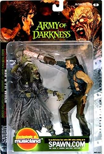 grandes ofertas McFarlane - Movie Maniacs - Series Series Series 4 - Army of Darkness - Ash & Pit Witch feature film figures - Exclusive Musicland 2 Pack by Unknown  buen precio
