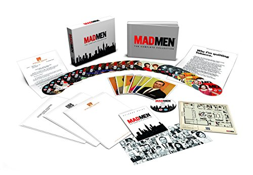 Mad Men - Complete Season 1-7 Deluxe Collector's Box Set UK Import [Blu-ray]