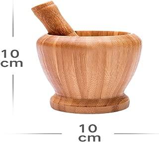 乳鉢 木製乳鉢 天然の竹 乳鉢セット 乳棒 蓋付食器 調理器具 木製 スパイスボールセット すり鉢・すりこぎ棒