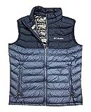 Columbia Mens White Out Omni-Heat Puffer Vest (M, Navy/Dark Blue)