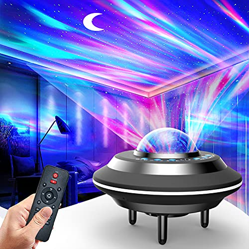 Aurora/Northern Light Projector - Laser Star Projector with LED Nebula Galaxy for Room Decor, Home...