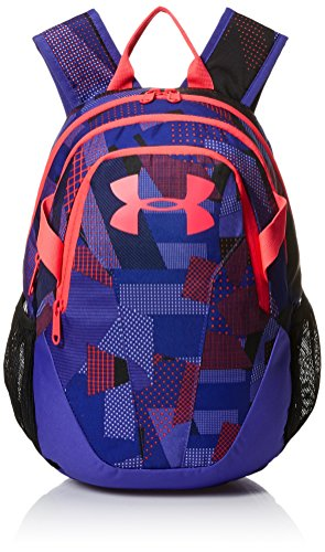 Under Armour Medium Fry Backpack, White (101)/Penta Pink, One Size Fits All
