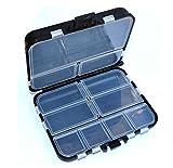 Generic 16 compartimentos impermeable ecológico herramienta de pesca señuelo cebo caja de almacenamiento caja contenedor