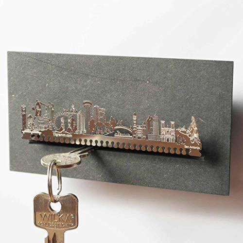 San Antonio-Skyline Schlüsselbrett Souvenir in der Geschenk-Box
