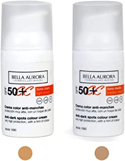 Bella Aurora Labs Crema Color Facial 1 unidad 30 ml