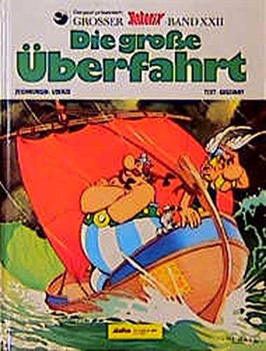 Asterix HC 22 Die große Überfahrt