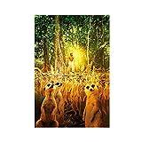 Berühmte Filmkunst-Poster Life of Pi 7, Leinwand-Poster,