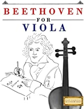 Beethoven for Viola: 10 Easy Themes for Viola Beginner Book