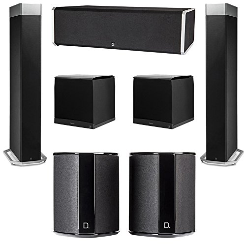 Best Buy! Definitive Technology 5.2 System with 2 BP9080X Tower Speakers, 1 CS9080 Center Channel Sp...
