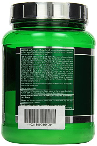Scitec Nutrition Whey Isolate Vanille, 1er Pack (1 x 700 g) - 2