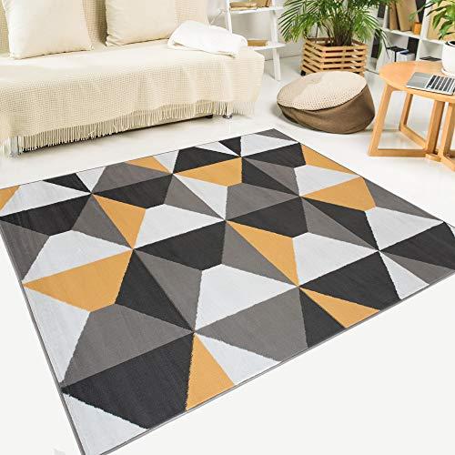 Comprar alfombras moderna naranja