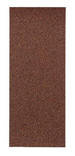 kwb Korund Schleifpapier-Set – für Holz und Farbe, K 60, K 80, K 120, K 180, 93 mm x 230 mm, für Schwingschleifer (50 Stk. - Sparpack)