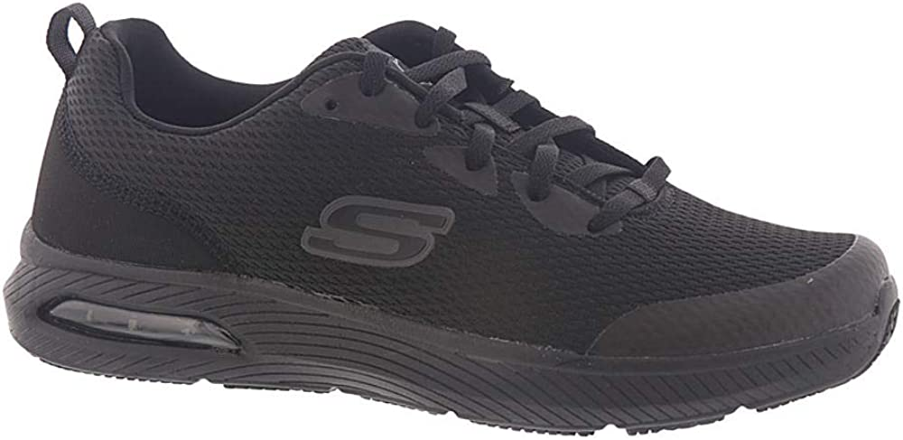 Skechers Work Relaxed Fit Dyna-Air SR Slip Resistant Mens Sneakers Black