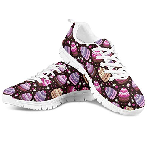 HUGS IDEA Zapatillas de deporte de diseño novedoso para uso diario, diseño de delfín y mariposa, ultra ligeras, para correr, correr, deporte, regalo divertido para hombre y mujer, color, talla 36.5 EU