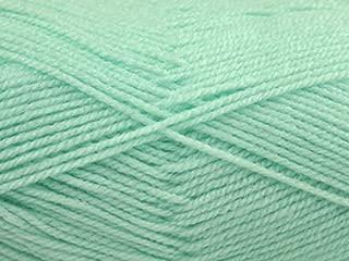 King Cole Big Value Baby Knitting Yarn DK 7 Nil Green - per 100 gram ball